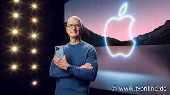Keynote: Apple setzt bei neuen iPhones auf bessere Kameras