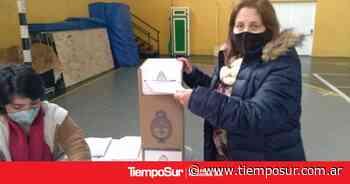 Votó la concejal Ethel Torres de El Calafate - Tiempo Sur