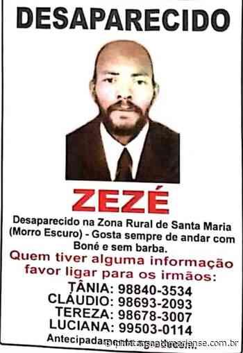 Familiares procuram por homem de Santa Maria de Itabira que está Desaparecido - Plantão Santamariense