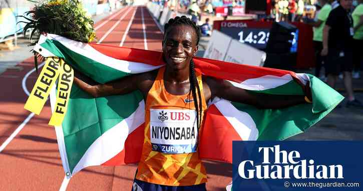 Francine Niyonsaba becomes first athlete with DSD to break world record