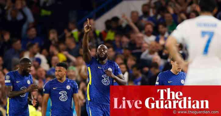 Chelsea 1-0 Zenit St Petersburg: Champions League – live!