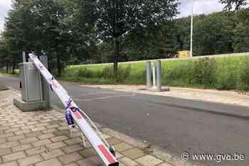 Brokkenbareel tussen Pulderbos en Vorselaar alweer stukgered... - Gazet van Antwerpen