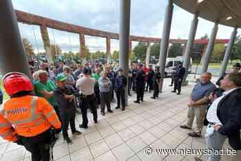 """Boeren protesteren tegen Landschapspark: """"Vrees voor beperkingen in ons werkveld"""""""