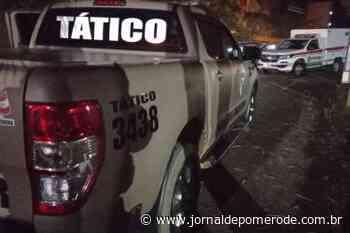 Após confronto com a Polícia, assaltante é baleado e morre, em Gaspar - Jornal de Pomerode