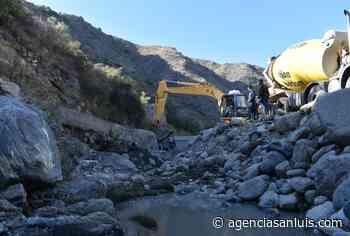 Comenzó la última etapa de la puesta en valor del Canal Quebrada de López - Agencia de Noticias San Luis
