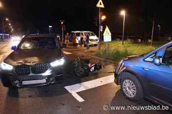 Bromfietser gewond bij ongeval in Wilrijk