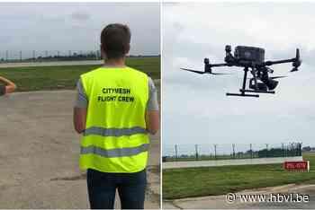 Roofvogel-drone moet vogels verjagen op luchthaven van Zaventem - Het Belang van Limburg