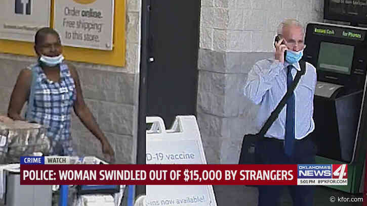 'It's not only a scam, but it's also a robbery,' Oklahoma woman scammed out of $15,000 after Walmart trip