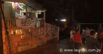 Un herido de bala tras enfrentamiento en refugio RI 14 - La Unión - launion.com.py