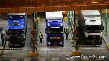 El Reino Unido retrasa controles aduaneros posbrexit con la Unión Europea - FRANCE 24