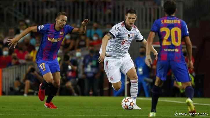 El uno a uno del Barcelona vs Bayern: Si no es por Ter Stegen... - MARCA