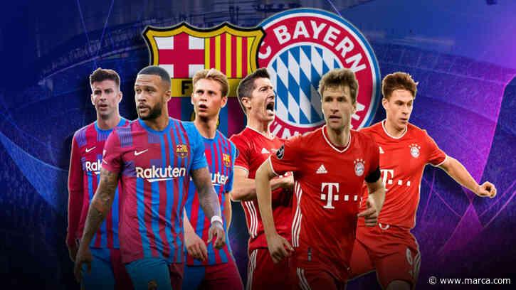 Barcelona vs Bayern, en directo: última hora, onces oficiales, novedades... - MARCA