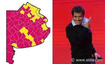 La provincia pintada de rojo: Manes pisó fuerte en el interior bonaerense - Diario El Dia