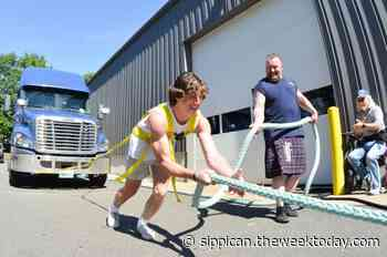 OR student pulls 18-wheeler to raise money for homeless animals - Sippican Week