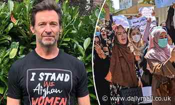 Hugh Jackman shows his support for the women of Afghanistan 'facing violence and uncertainty' - Daily Mail