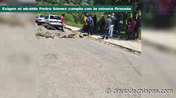 Bloquean tramo Ocosingo-San Cristóbal - Diario de Chiapas