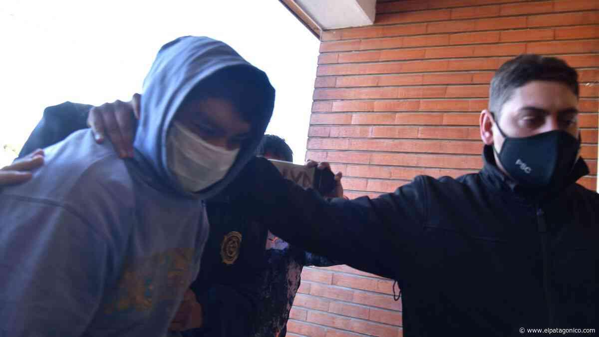 Ya está en un calabozo de Caleta el presunto homicida de Aparicio - El Patagonico