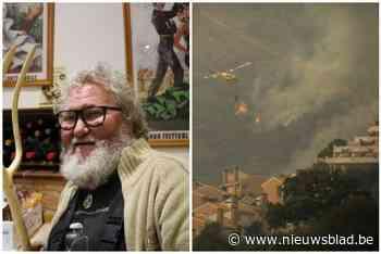 """Eric (62) moest vluchten voor Spaanse bosbranden: """"Dacht dat ik alles kwijt was"""""""