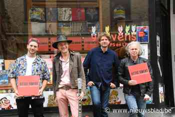 """Na ruim vijftien jaar spelen op podia brengt deze band haar eerste plaat uit: """"We hebben er aan gewerkt tot we zelf 100% content waren"""" - Het Nieuwsblad"""