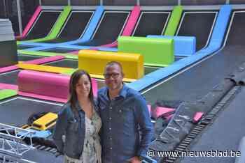 Springen op 65 trampolines bij B Bounce - Het Nieuwsblad