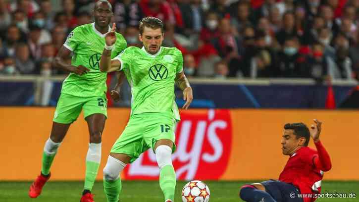 VfL Wolfsburg rettet in Unterzahl einen Punkt in Lille - Sportschau