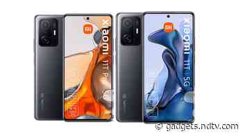 Xiaomi 11T Series, 11 Lite 5G NE, Pad 5 Price and Key Specifications Leaked Ahead of Launch Today