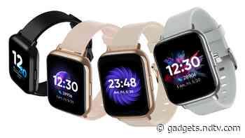 Realme Dizo Watch 2, Realme Dizo Watch Pro Smartwatches With SpO2 Monitoring Launched in India
