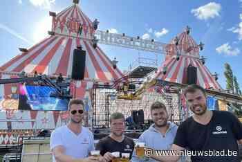 """'Tomorrowland van de Westhoek' pakt uit met Regi en Gers Pardoel: 7.000 festivalgangers op """"eerste grote feest - Het Nieuwsblad"""
