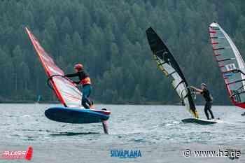 Windsurfen: Maxi Räuchle surft erfolgreich in den Schweizer Bergen - Heidenheimer Zeitung