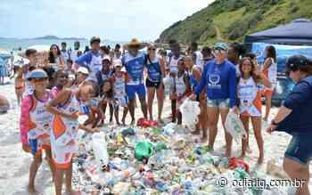 Voluntários farão ação de limpeza em praias de Arraial do Cabo - O Dia