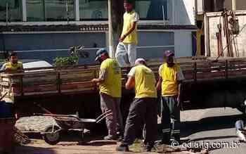 Prefeitura faz reparos em calçada para evitar acidentes em Arraial do Cabo - O Dia