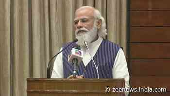 Democracy is not just constitutional structure but a spirit, it`s `jeevan dhara`: PM Narendra Modi at Sansad TV launch