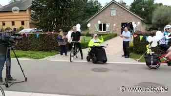 Rolstoelpatiënt uit Boortmeerbeek begint aan vierdaagse tocht naar Oostende - ROB-tv