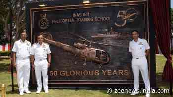 INAS 561, Indian Navy's only Helicopter Training School, completes 50 years