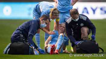 Man City's Morgan out with leg fracture