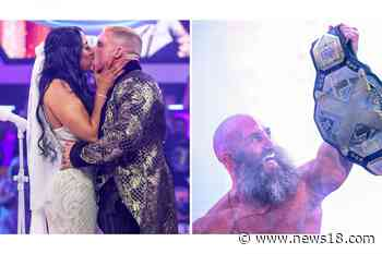 WWE NXT Results: Ciampa Wins Back Goldie; InDex Says 'I Do'   In Pics - News18