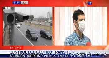 Municipalidad de Asunción analiza aplicación de fotomultas en el tránsito - Resumen de Noticias