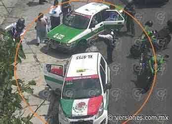Por poco mujer da a luz en taxi, en Xalapa - Versiones