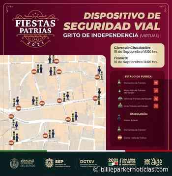 Van a cerrar el centro histórico de Xalapa por fiestas Patrias virtuales - Billie Parker Noticias