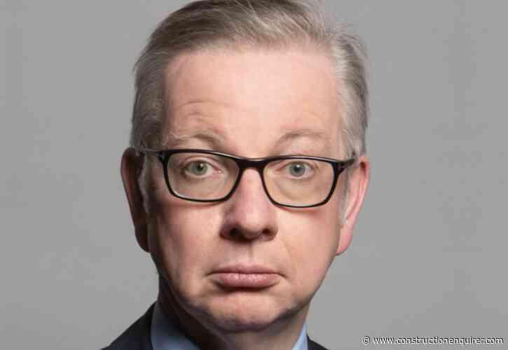 Michael Gove named new housing secretary