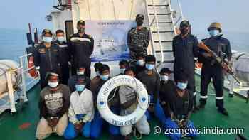 Indian Coast Guard nabs Pakistani fishing boat off Gujarat coast, probe on