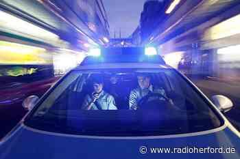 Polizei verfolgt Raser bis nach Kirchlengern - Radio Herford