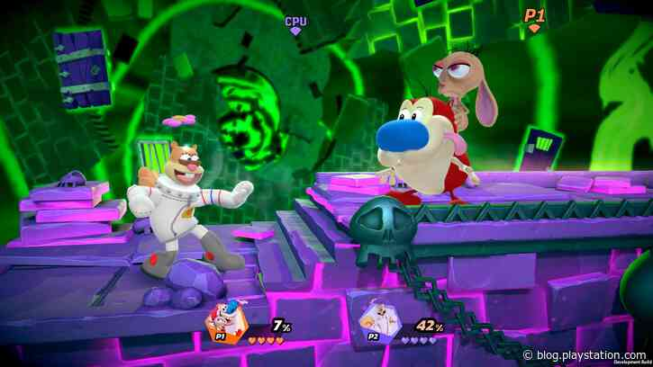 Ren & Stimpy are coming to Nickelodeon All-Star Brawl - PlayStation.Blog