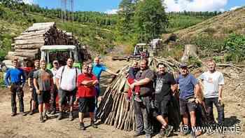 Netphen: Die erste Holzkohle aus einem Grissenbacher Meiler - WP News