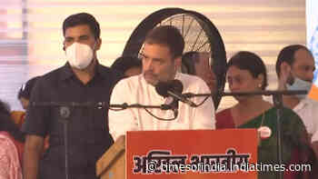 BJP-RSS fake Hindus, they are brokers of religion: Rahul Gandhi