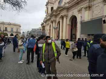 Llaman a respetar el protocolo durante la procesión de los Santos Patronos - Nuevo Diario de Salta