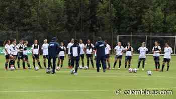 Leicy Santos, presente en los trabajos de la Selección - AS Colombia