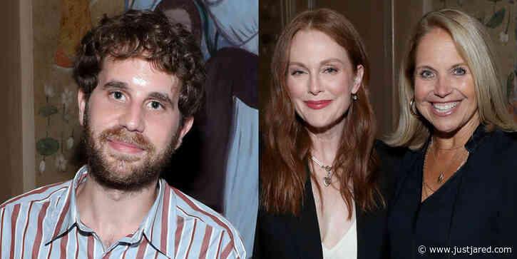 Ben Platt & Julianne Moore Join Katie Couric for a Screening of 'Dear Evan Hansen' in NYC