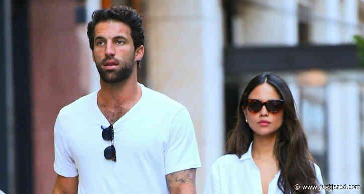 Eiza Gonzalez & Boyfriend Paul Rabil Hold Hands While Shopping in NYC