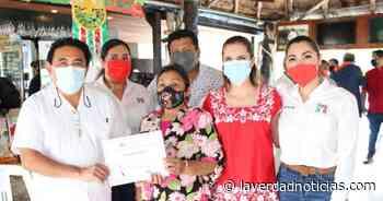 Entrega reconocimientos el PRI a activistas de Isla Mujeres - La Verdad Noticias